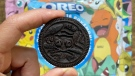 The coveted Mew cookie is being listed for thousands of dollars on eBay. (Oreo)