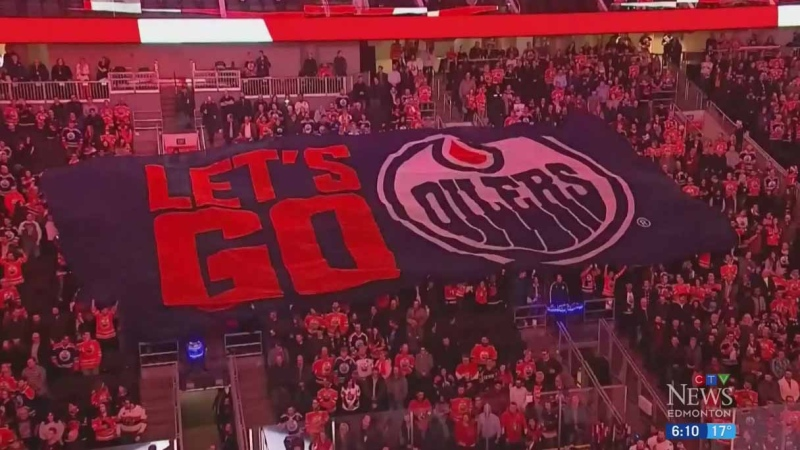 Oilers welcome back fans to Rogers Place