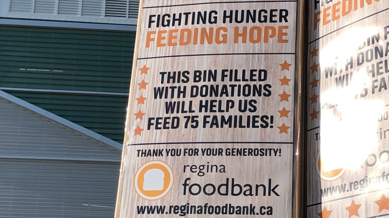 The Mosaic Million Meal Challenge kicked off on Sept. 28 in support of the Regina Food Bank. (David Prisciak/CTV News)