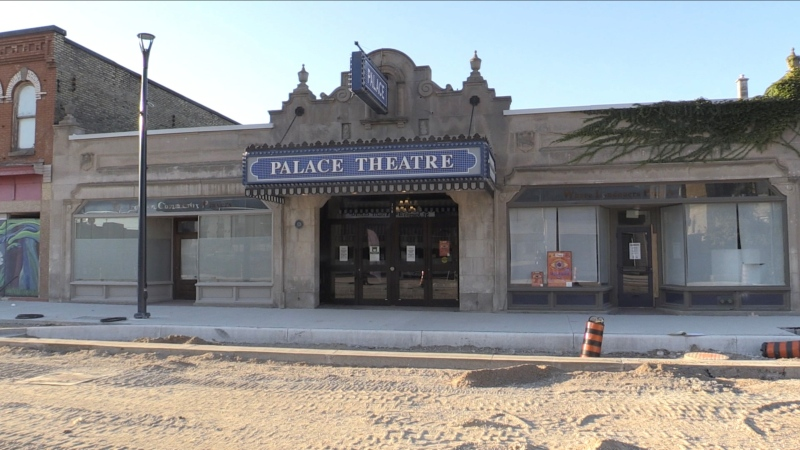 The Palace Theatre, Sept. 28, 2021. (Daryl Newcombe / CTV News)