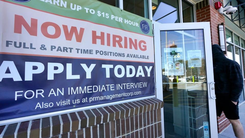 Now Hiring, sign, employment, jobs