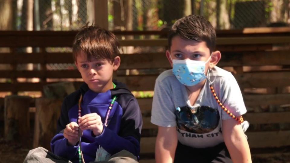 Masks on kids