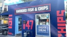 Harbord Fish & Chips in Toronto is seen in this undated photograph. (Abby Neufeld/CTV News Toronto)
