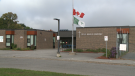 Families and staff at École élémentaire catholique Marius-Barbeau are being warned that the school could be closed for 10 days or more because of an escalating COVID-19 outbreak. (Jim O'Grady/CTV News Ottawa)