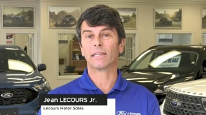 Jean Lecours Jr., of Lecours Motor Sales in Hearst, discusses how Community Futures Northeastern Ontario has impacted his business. (CTV Northern Ontario)