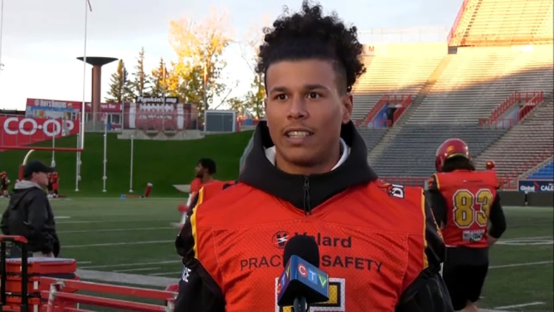 Jalen Philpot is one of the U of C Dino's top offensive weapons and he's the Athlete of the Week