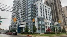 400 Lyle Street in London, Ont on Sunday, Oct. 3, 2021. (Brent Lale/CTV London)