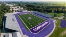 Aerial view of newly-named Western Alumni Stadium, at Western University in London, Ont. (Source: Western University)