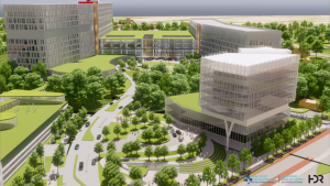The planned $2.8-billion Ottawa Hospital Civic campus is due to open in 2028. (The Ottawa Hospital)