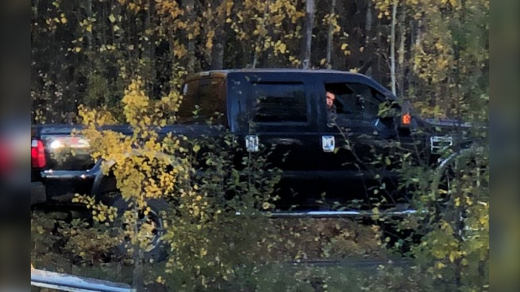RCMP looking for the driver of black pickup truck