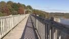 Goderich Menesetung Bridge