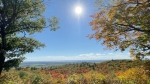A look at the fall colours at Huron Lookout in Gatineau Park. (Peter Szperling/CTV News Ottawa)