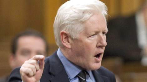 Liberal MP Bob Rae speaks during question period in the House of Commons on Parliament Hill in Ottawa, Ont., on Thursday November 19, 2009. THE CANADIAN PRESS/Sean Kilpatrick