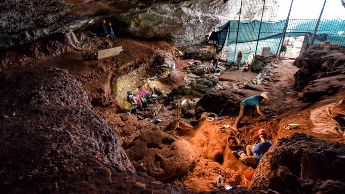 Romanelli Cave