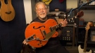 Randy Bachman with the 1957 Gretsch guitar he bought to trade with a man in Tokyo who wound up with Bachman's stolen guitar. (Randy Bachman)