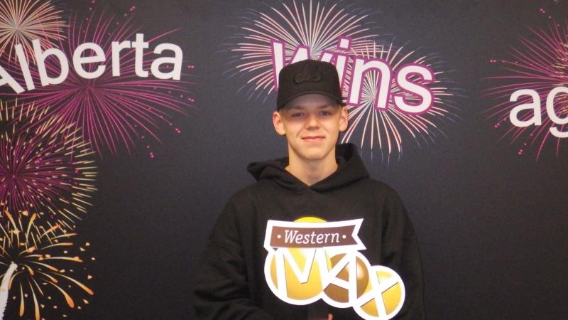 Aidan Boelsgaard won a $2-million lottery in September 2021. (Supplied)