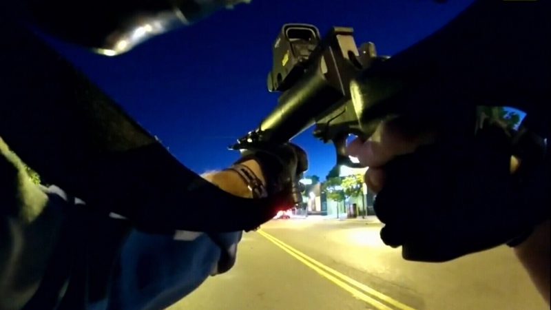 Video shows officers 'hunting' civilians