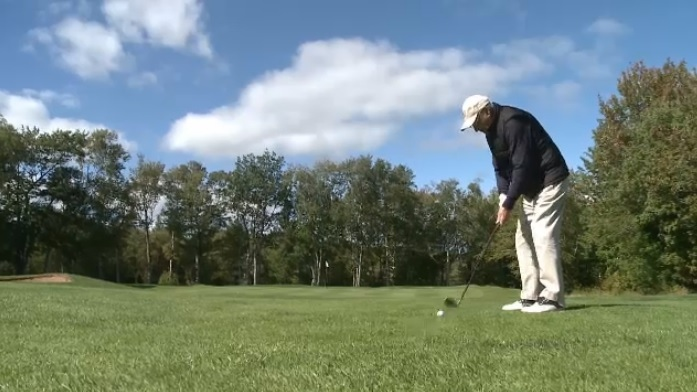 If you see Iver Gillis swing a golf club, you'd have a hard time believing his age.