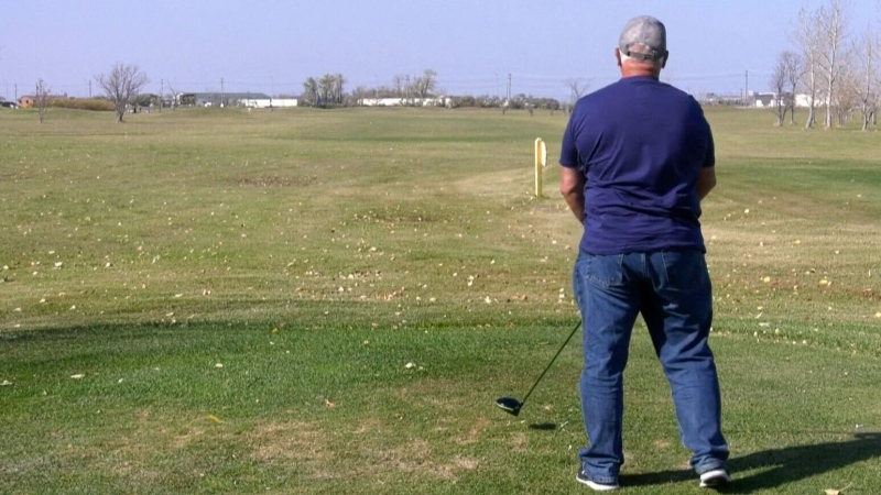 City councillor Kevin Klein wants John Blumberg Golf Course removed from surplus list (file image)