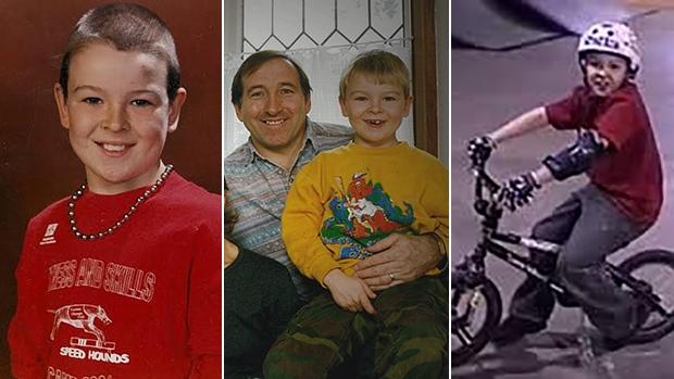 Family photos of Ian Carmichael (supplied)
