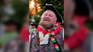 Town Crier, Bill  Paul. (Source: George Georgopoulos / Facebook)
