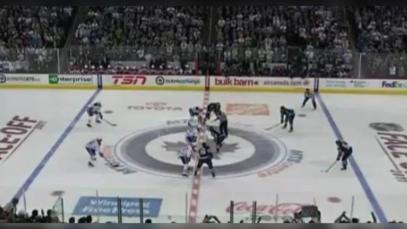 Winnipeg Jets first game