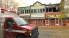 Flames tore through the Empire Building in downtown Red Deer during the early hours of Oct. 10, 2021.
