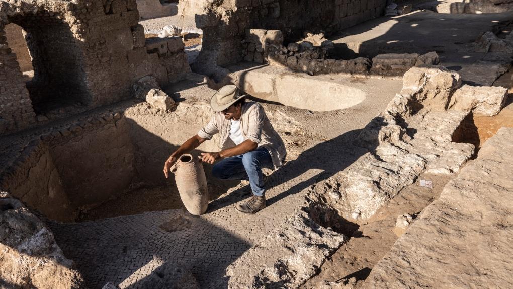ancient winemaking complex