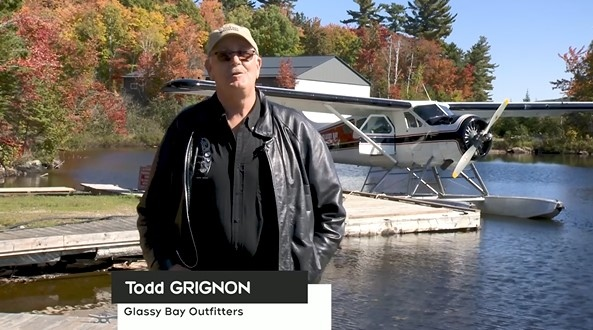 Todd Grignon of Glassy Bay Outfitters in Elliot Lake