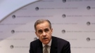 Mark Carney, then-Governor of the Bank of England speaks during a Bank of England Financial Stability Report Press Conference, in London, Monday, Dec. 16, 2019. (AP Photo/Kirsty Wigglesworth,pool)