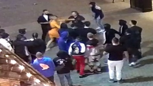 Ottawa police are asking for the public's help identifying anyone in this image as part of an investigation into a stabbing on Sept. 19, 2021. (Photo submitted by the Ottawa Police Service)