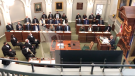Lt.-Gov. Arthur LeBlanc delivered the new government's first speech from the throne on Tuesday, which repeated promises made during the summer's election campaign.