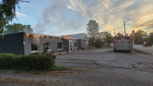 JJ's Country Diner caught fire on Sept. 28, 2021. The fire was put out but smoke damage forced the owners to get rid of almost everything inside. (Photo courtesy of JJ's Country Diner)