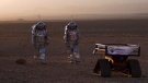 Six astronauts are living in Mars-like conditions for a three-week experiment.