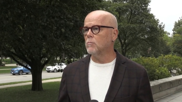 John Fyfe-Millar was the runner up in Ward 13 in the 2018 municipal election. (Brent Lale / CTV News)