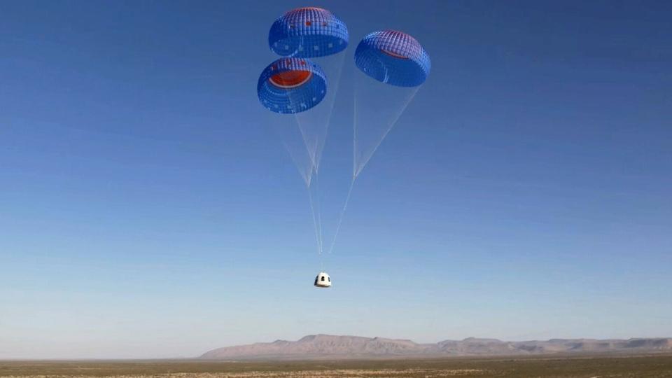 William Shatner Blue Origin