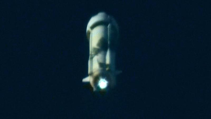 Watch William Shatner blast off into space