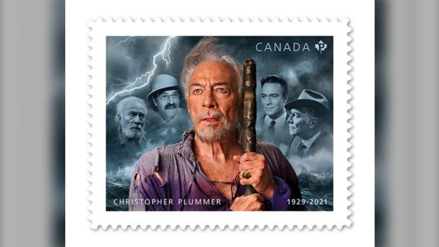 Christopher Plummer honrado en el sello postal de Canadá