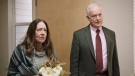 """This image released by Bleecker Street shows Reed Birney, right, and Ann Dowd in a scene from """"Mass."""" (Bleecker Street via AP)"""