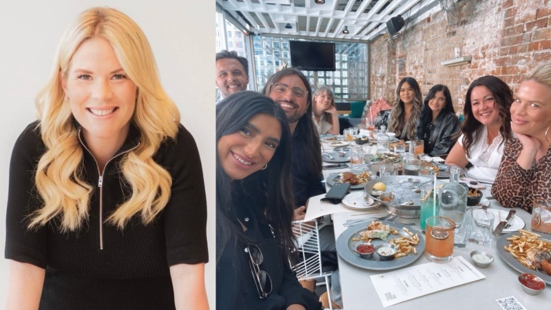 Jamie Savage, CEO and founder of Toronto-based recruitment company The Leadership Agency, implemented a four-day full work week for employees in October 2020. (Supplied)