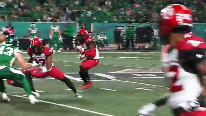 Carey was huge in back to back wins against the Saskatchewan Roughriders.  On Saturday he had 178 yards from scrimmage, 109 of those yards were on the ground.