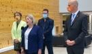 Ontario NDP leader Andrea Horwath was at Laurentian University on Wednesday. (Alana Everson/CTV News)