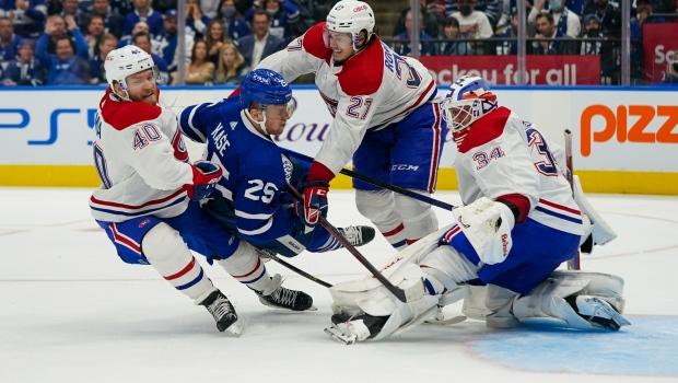 Nylander y Campbell lideran el camino mientras Maple Leafs derrota a Canadiens en el primer partido