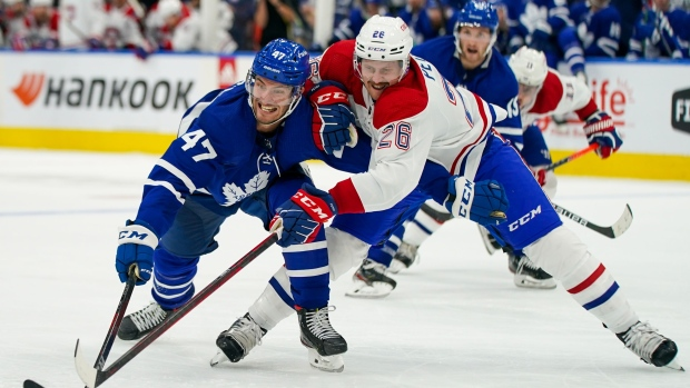 Toronto Maple Leafs venció a Montreal Canadiens en el primer partido en casa