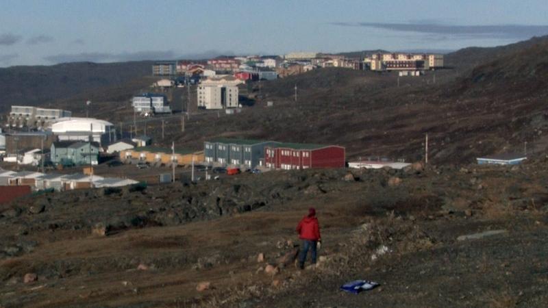 Iqaluit, Nunavut is pictured on Wednesday, Oct. 13, 2021.