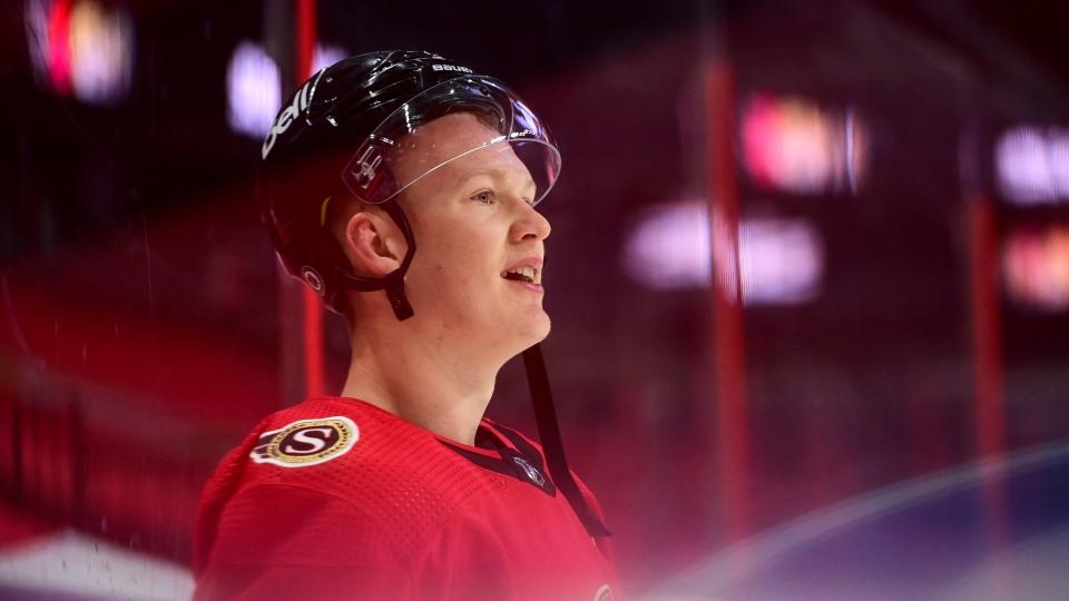 Ottawa Senators' Brady Tkachuk