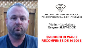 Greg Slewidge of Carleton Place, Ont. was found dead at a property in the Town of Beckwith in September 2020. (Photo courtesy/Ontario Provincial Police)