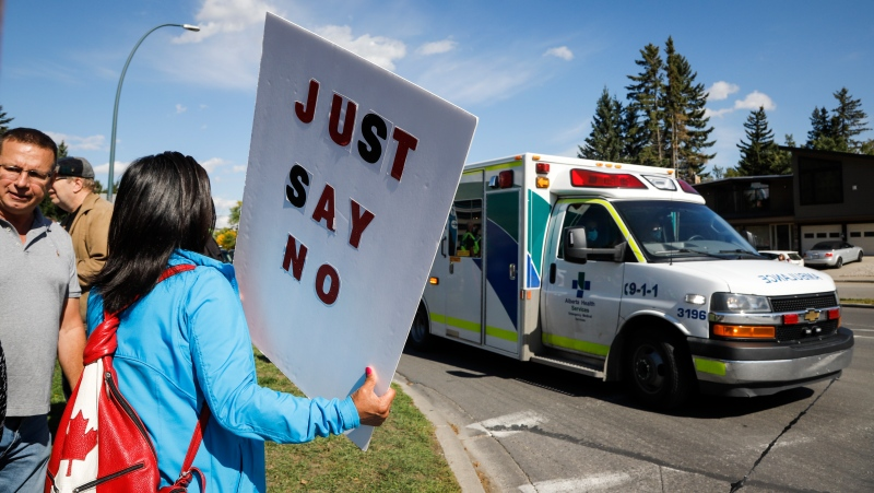 The Nova Scotia Government announced Thursday plans for new legislation that will ban protests within 50 metres of health-care facilities and pharmacies. THE CANADIAN PRESS/Jeff McIntosh