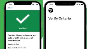 Verify Ontario app