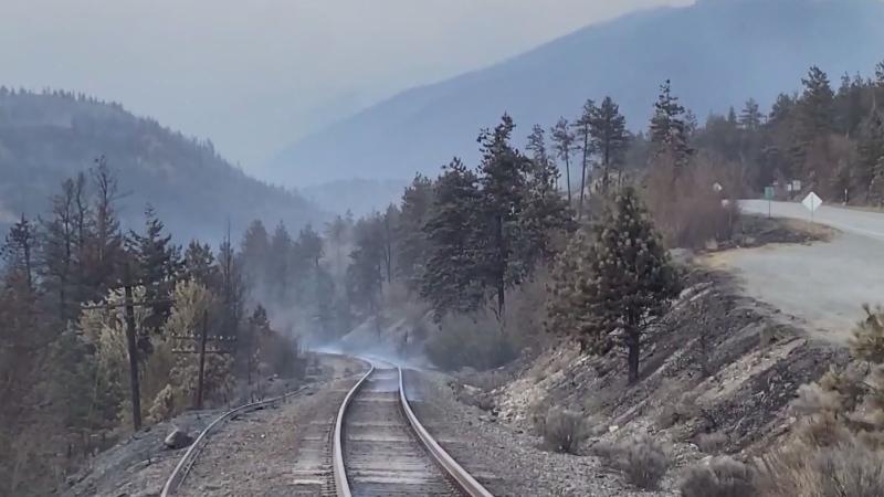 Cause of Lytton fire wasn't train: TSB